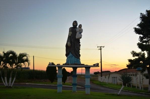 Rancho Alegre do Oeste - Entrada