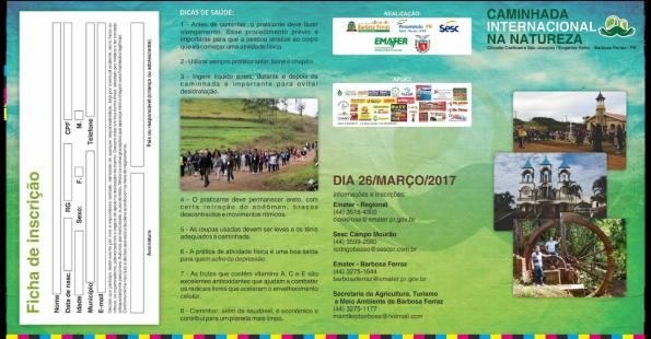 Caminhada Internacional da Natureza Barbosa Ferraz