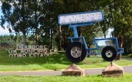 Entrada do Município de Mamborê