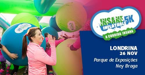 Insane Inflatable 5k – A Corrida Insana - Londrina