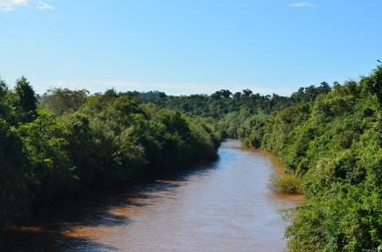 Rio em Campina da Lagoa