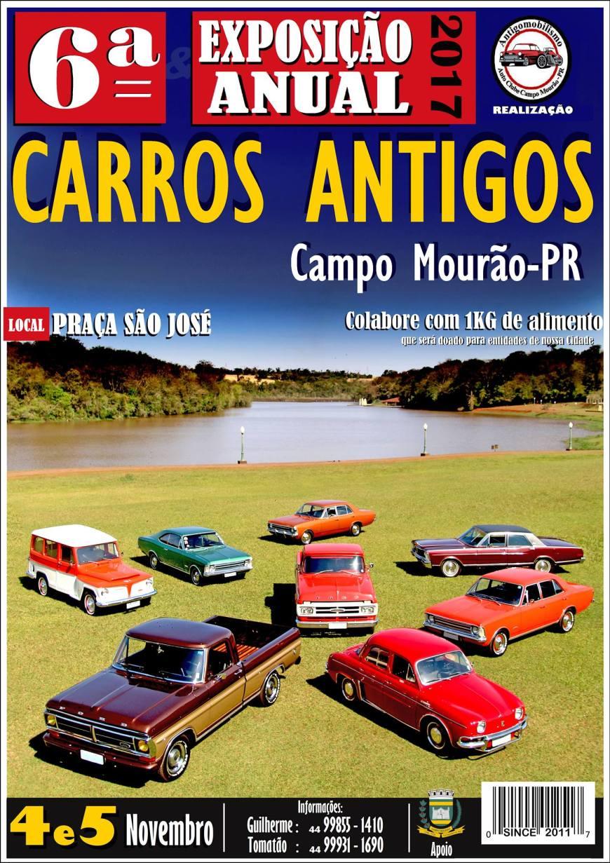 Carros antigos Campo Mourão