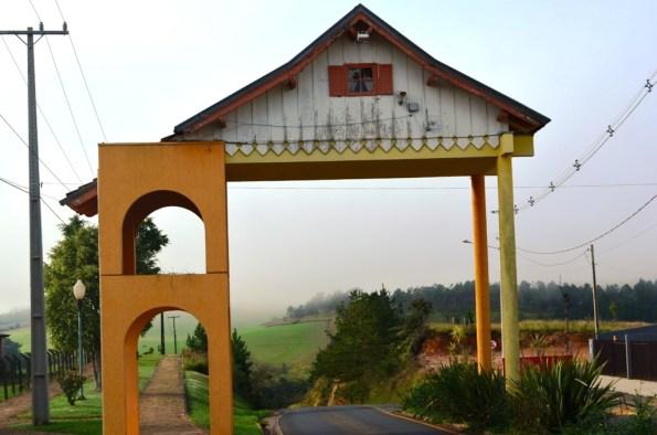 Entrada da cidade de Tibagi-PR