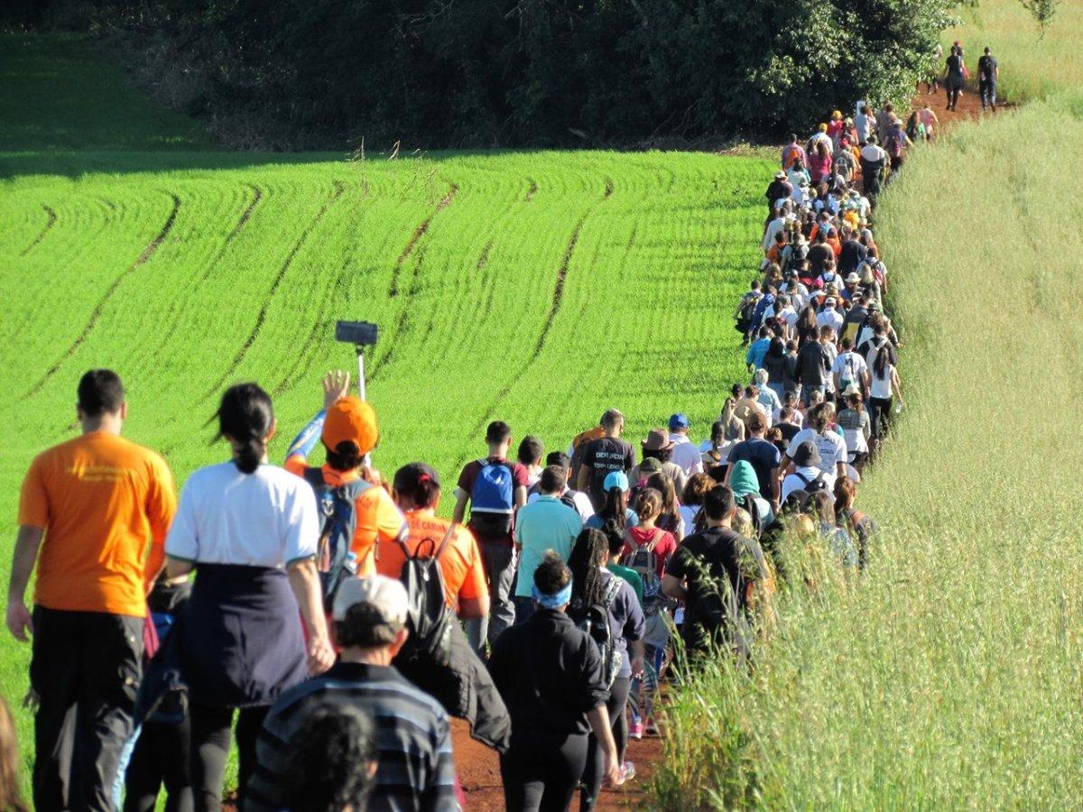 Caminhadas Internacionais na Natureza - Calendário 2018