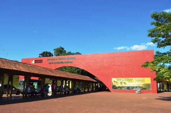 Entrada do Parque Nacional do Iguaçu