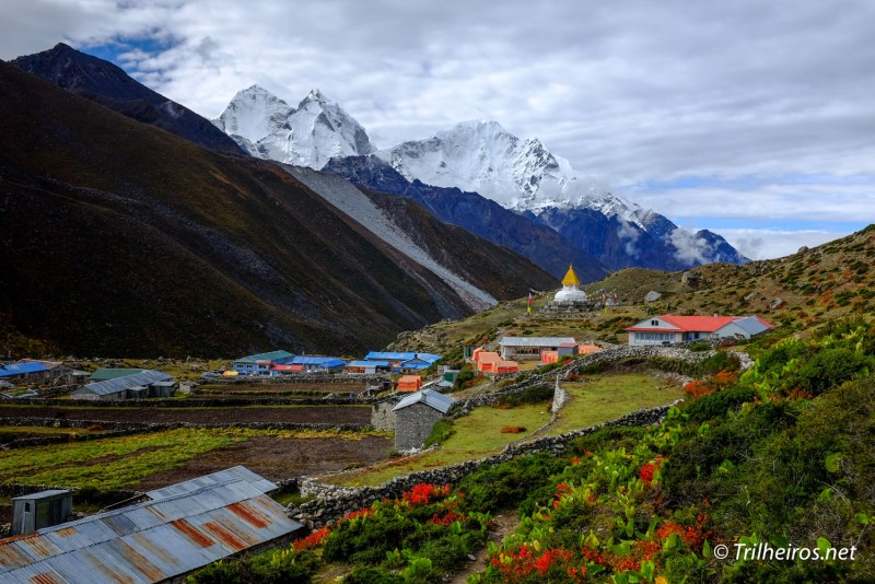 Dingboche em trekking ao campo base do Everest | Trilheiros