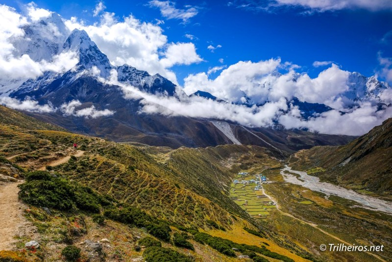 Vista Pheriche - Trekking ao Campo Base do Everest | Blog Trilheiros