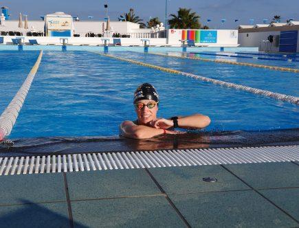 Lanzarote-Schwimmtraining