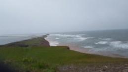 L'Ile Boudreau à la pluie!