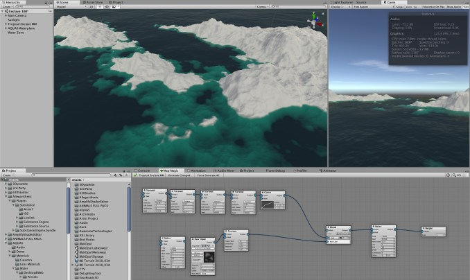 Tropical Enclave Work In Progress