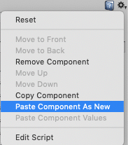 Paste Component As New