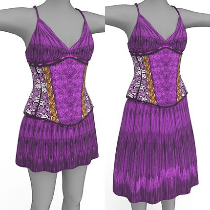 Bettie Outfit in purple
