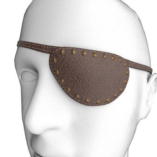 Eyepatch Brown