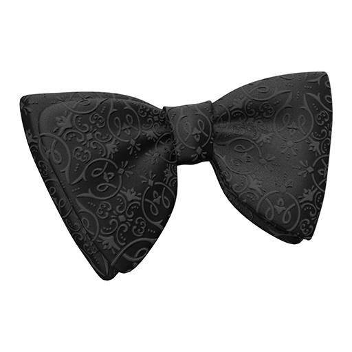 Tie Goth Black