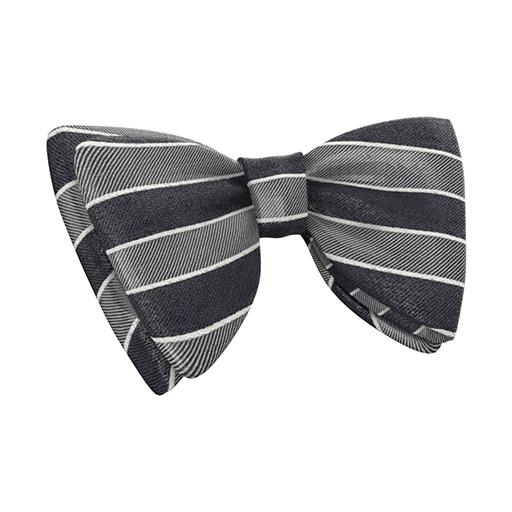 Tie Grey Stripe