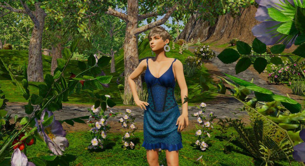Chanteuse Blue