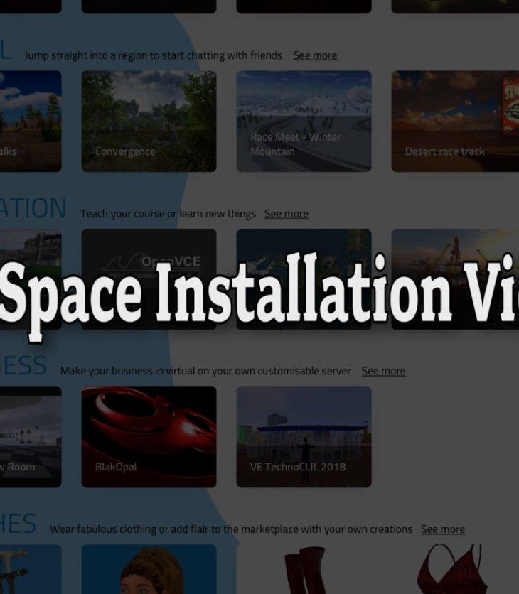 SineSpace Installation Videos