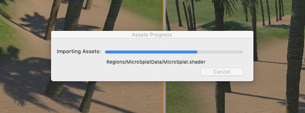 Converting to MicroSplat Progress
