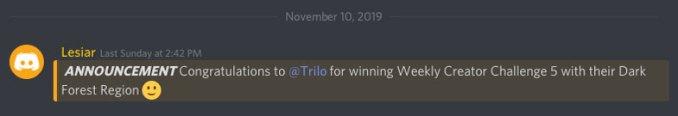 Dark Forest Winner Announcement