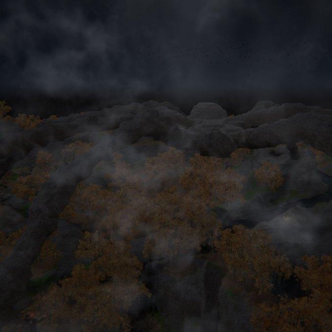 Stone Spider above the Dark Forest