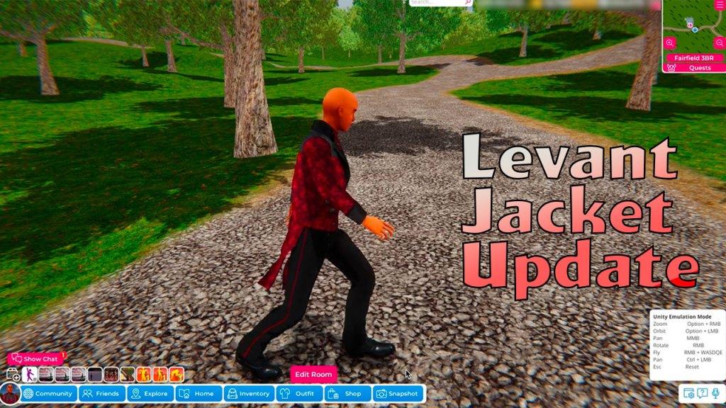 Levant Jacket Update