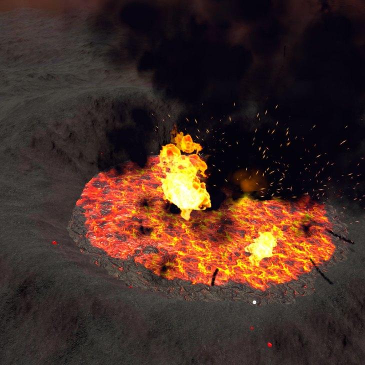 Volcano World Crater