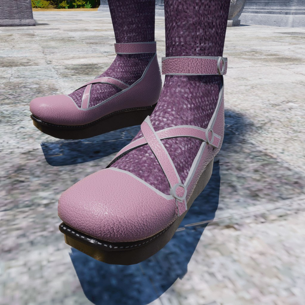 Rascal Platform Shoes in Pink