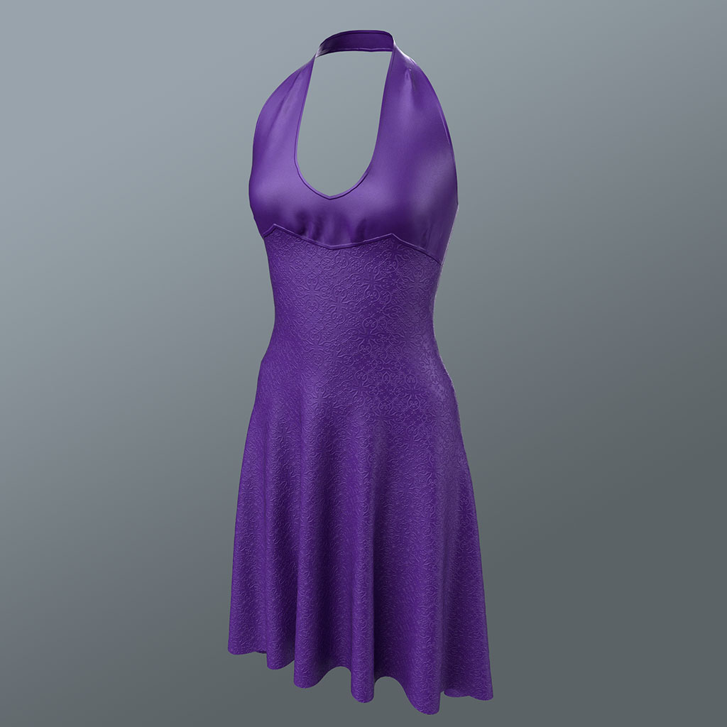 Dress in Purple