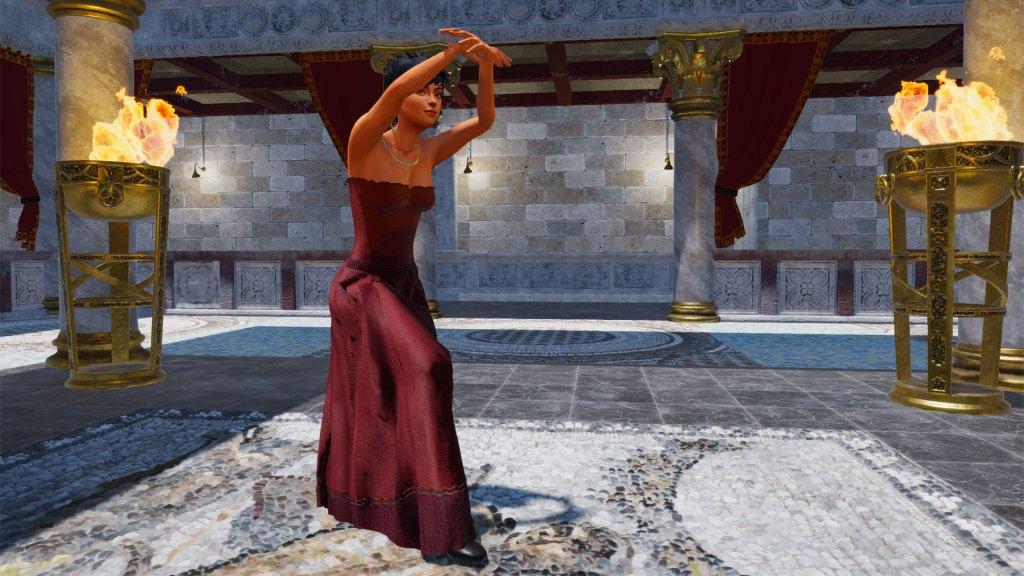 Allegro Gown in Motion