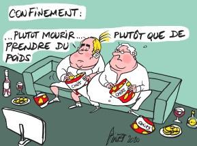 Chips party de confinement