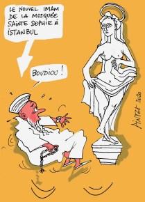 L'Imam-de-Sainte-Sophie-à-Istanbul