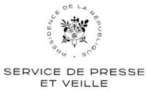 Service presse Elysée :Communiqué