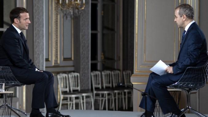 Interview du Président Emmanuel Macron à Al Jazeera
