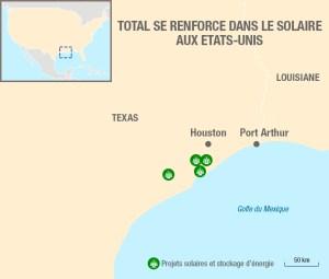 Carte Texas Energie Solaire