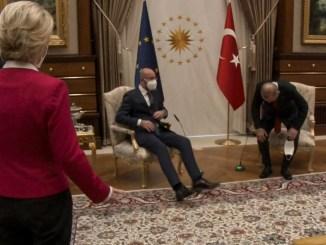 Von der Leyen, Charles Michel et Erdogan : l'art de l'humiliation sur canapé. Mais qui est véritablement l'humiliée ?