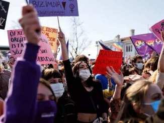 Turquie – Retrait de la Convention d'Istanbul et Manifestation