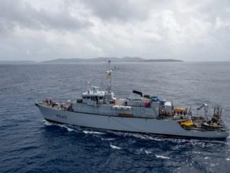 La France prend le commandement d'un groupe de guerre des mines de l'OTAN en Méditerranée