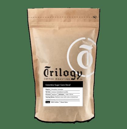 Trilogy Coffee Colombia Sugar Cane Decaf