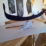 Studio per Visione-Souvenir Meta Gondola Fisica, 21 x 29,7 cm, 2017.