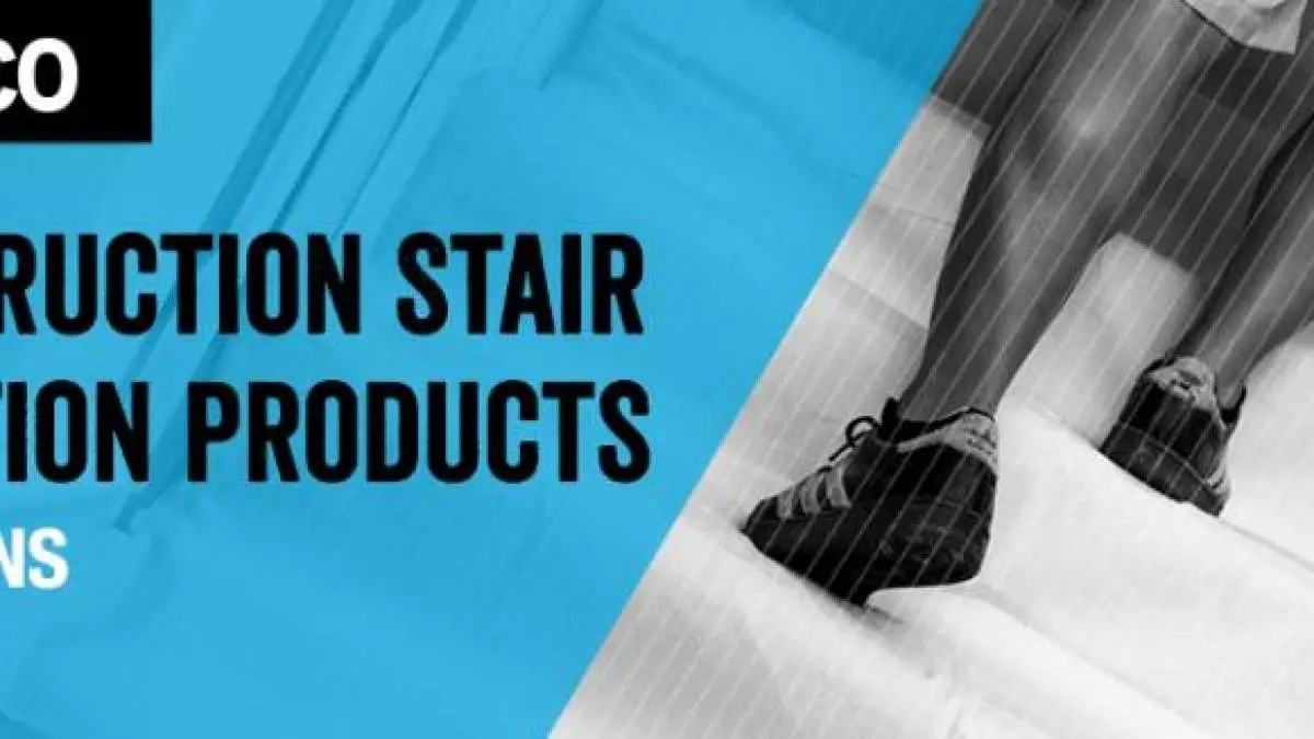 Five Construction Stair Protection Products Trimaco | Temporary Carpet For Stairs | Flooring | Protection | Stair Runner | Film | Magic Carpet