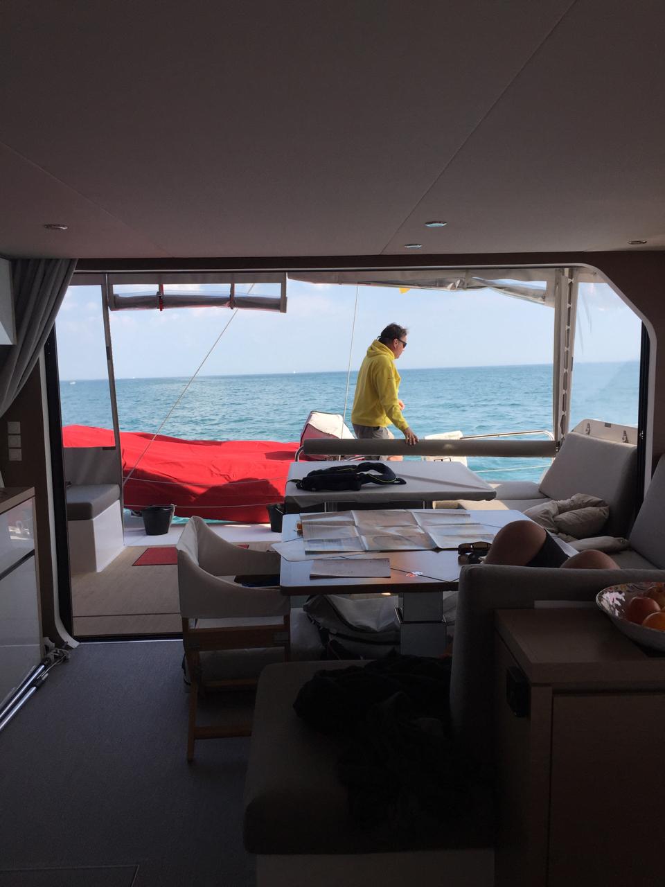 Überführungsfahrt:                        La_Rochelle – Brest – Cherbourg