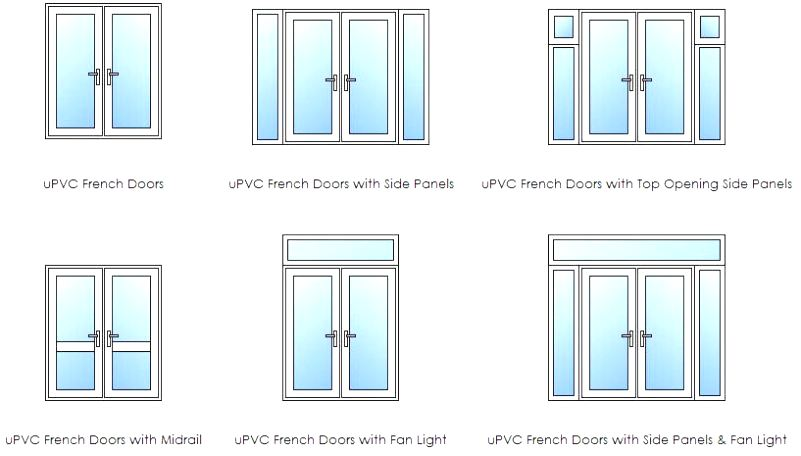 french door layouts