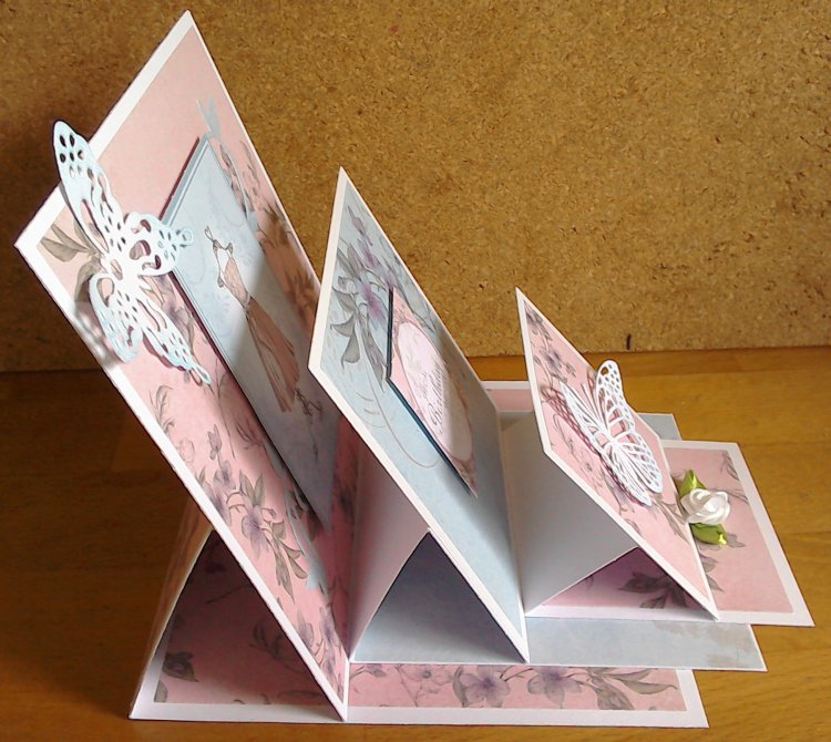 Triple Stacked Easel Card Craft Inspiration