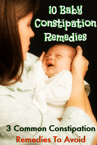 10 Remedies For Infant Constipation