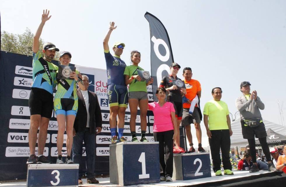 Un éxito la realización del Duatlón San Pedro Cholula 2018