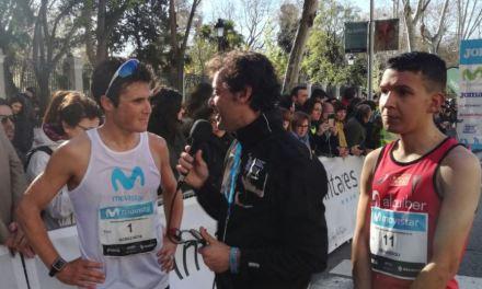 Gómez Noya se quedó a un puesto del Top Ten en el medio Maratón de Madrid.