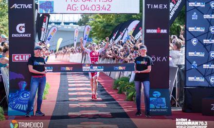 Daniela Ryf y su experiencia en el Ironman 70.3 Suiza el pasado fin de semana.