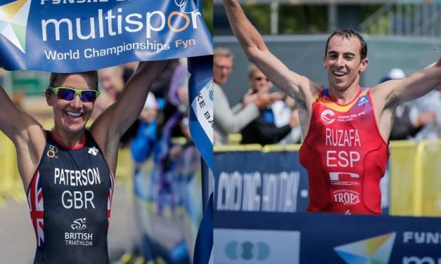 Rubén Ruzafa y Lesley Paterson se coronaron como  Campeones Mundiales de Triatlón Cross.