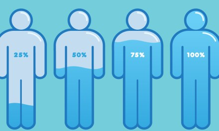 ¿Qué le pasa al cuerpo durante una deshidratación?