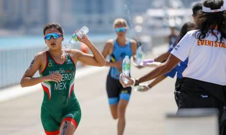 Logra equipo México el lugar 12 en los relevos mixtos de la Series Mundiales de Triatlón